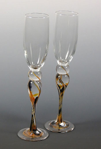 Blown-Glass-Champagne-Glasses---Black-and-Gold.jpg